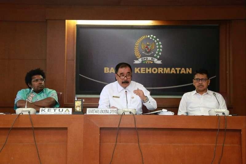 Sekjen: Pencabutan Undangan GKR Hemas Menjalankan Perintah Tatib DPD RI
