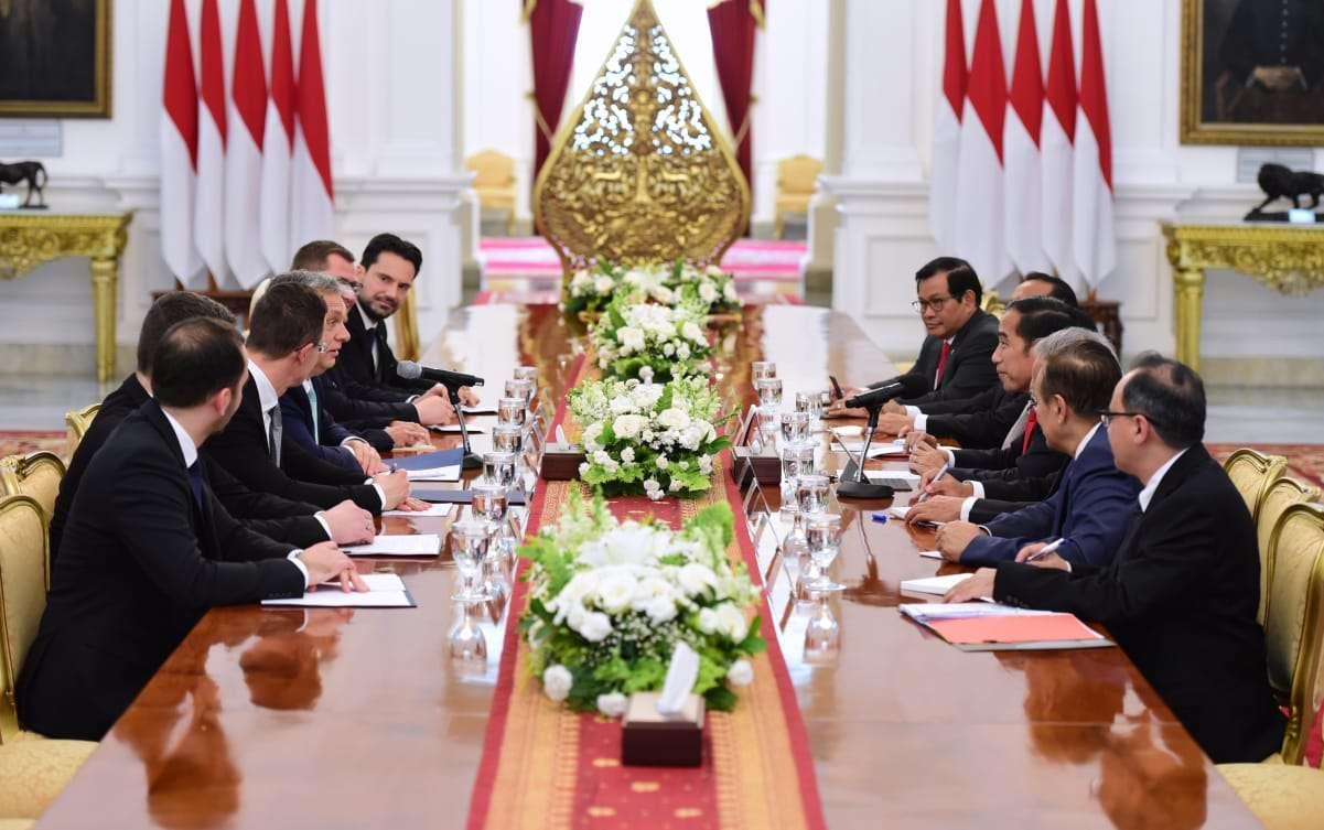 Terima PM Hungaria, Presiden Bahas Peningkatan Sejumlah Kerja Sama